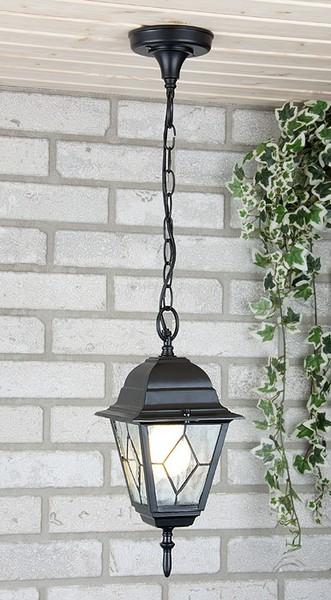 Уличный светильник  Vega H черный (потол.) Е27 60W