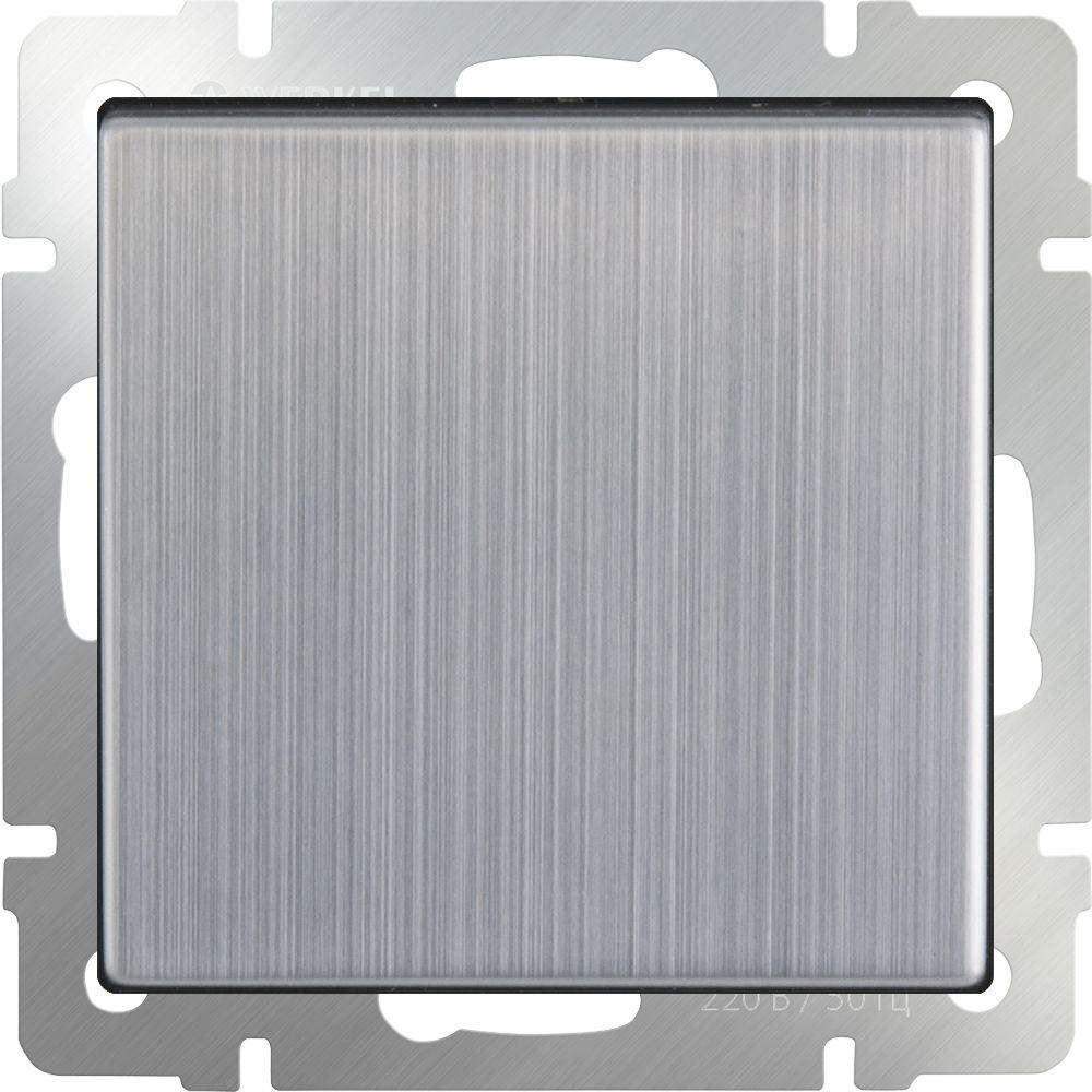 Выключатель 1клавишный (глянцевый никель) /WL02-SW-1G