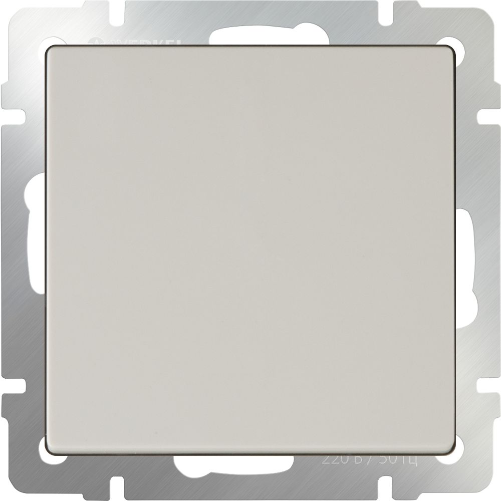 Выключатель 1клавишный проходной (слоновая кость) /WL03-SW-1G-2W