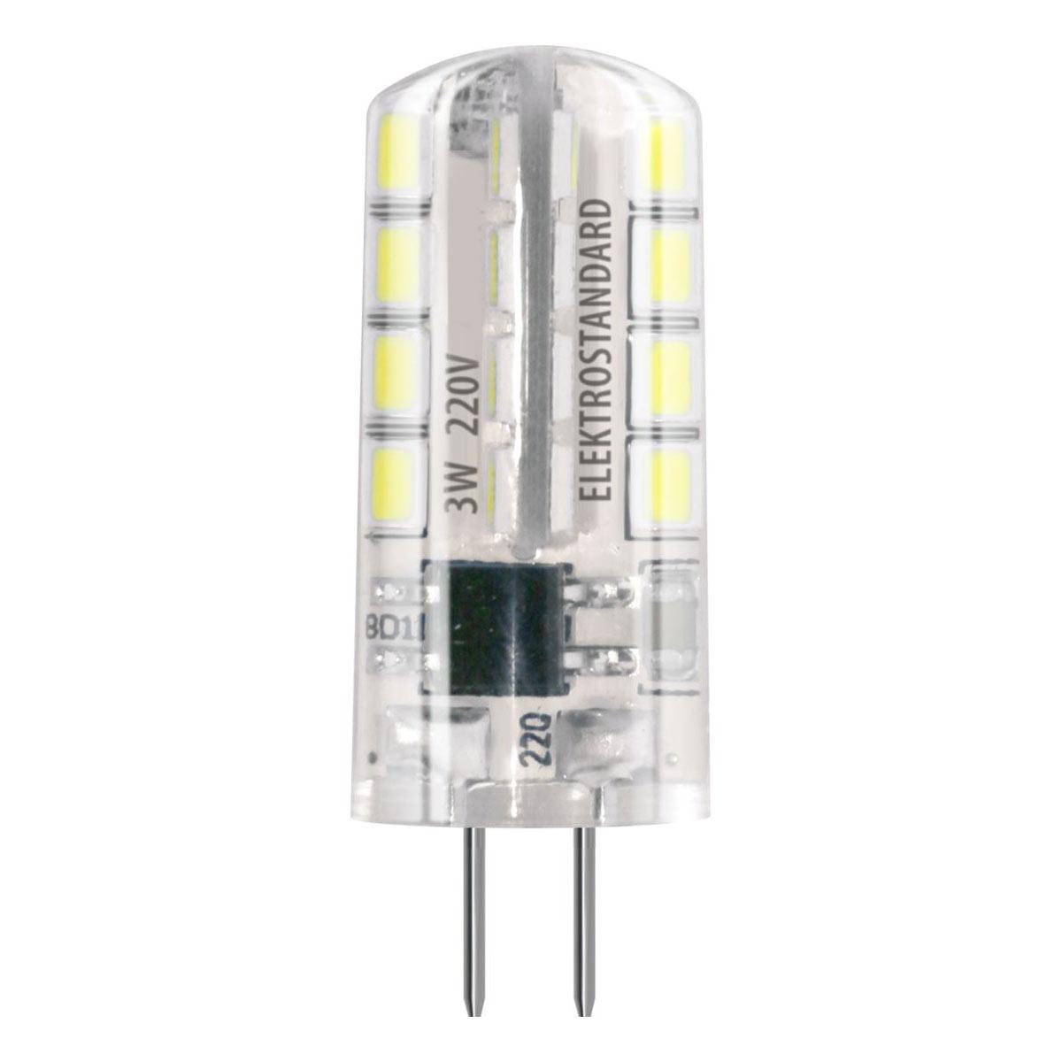 Лампа LED - G4 SMD 3W AC 220V 360C 3300K