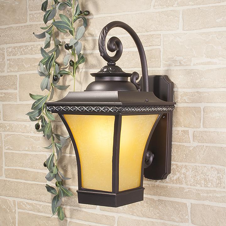 Уличный светильник Libra D венге (стена) Е27 1*60W