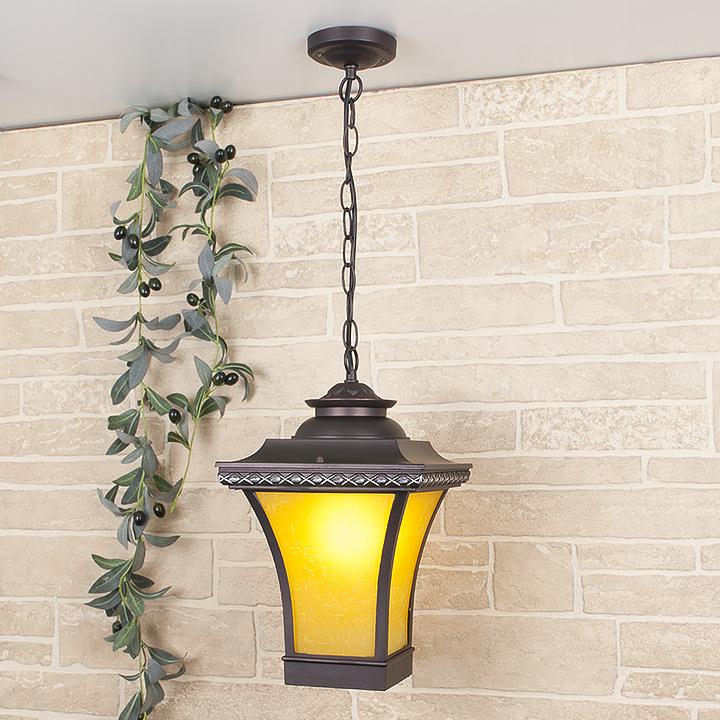 Уличный светильник Libra H венге (подвесной) Е27 1*60W