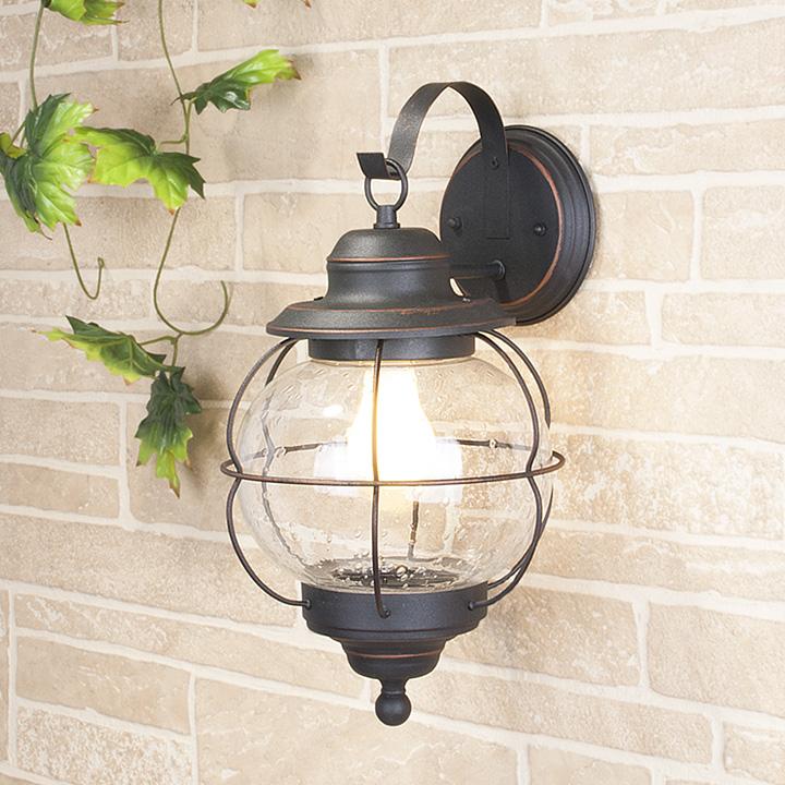 Уличный светильник Regul D черная медь (стена) Е27 60W
