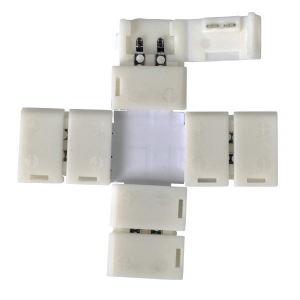 Коннектор LED 1X для 3528 одноцветной светодиодной ленты X