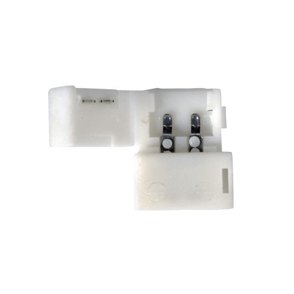 Коннектор LED 2A  для одноцветной светодиодной ленты 5050 жесткий