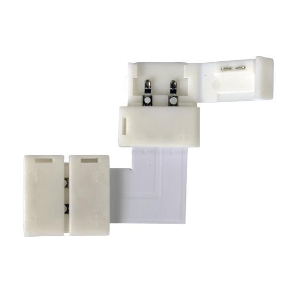 Коннектор LED 2L  для одноцветной светодиодной ленты 5050