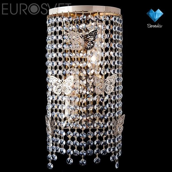 Настенный светильник 10015/2 золото
