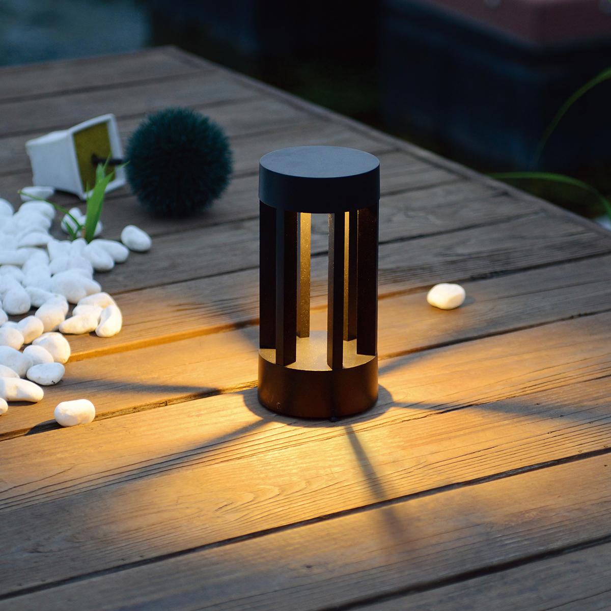 Уличный светильник - TECHNO 1621 LED графит
