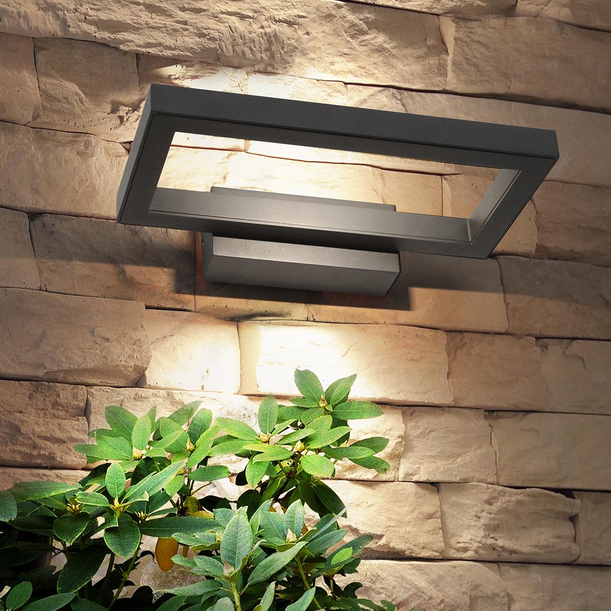 Уличный светильник - TECHNO 1642 LED графит