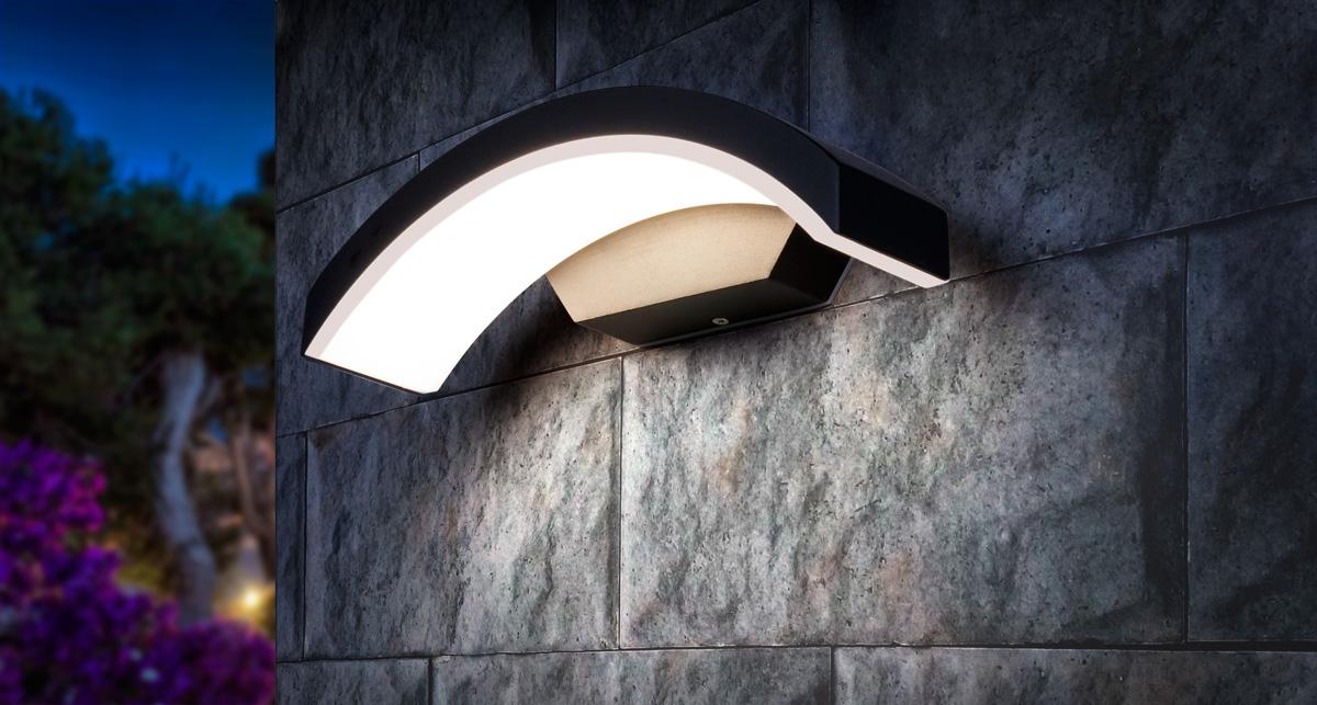 Уличный светильник - TECHNO 1671 LED черный