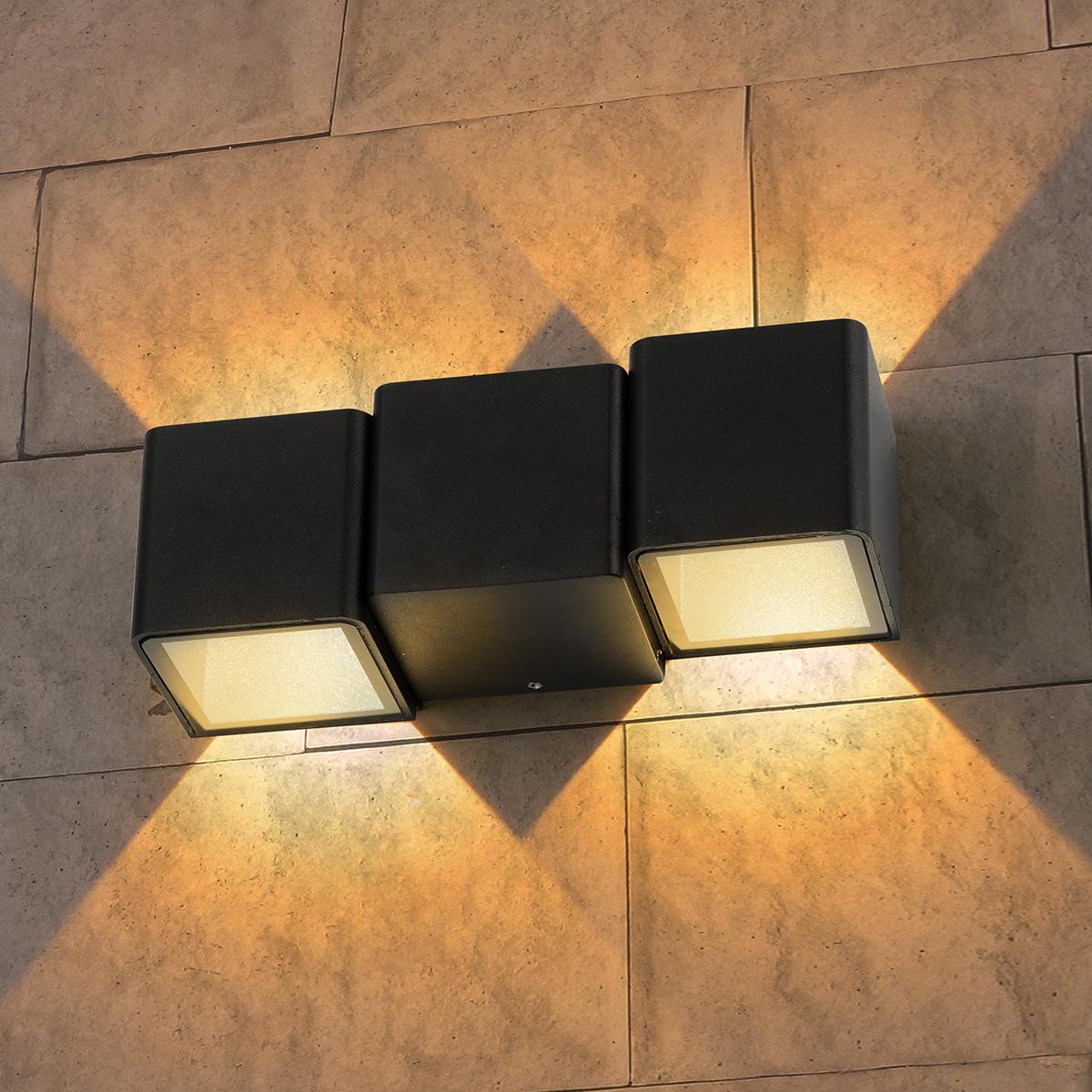Уличный светильник - TECHNO 1694 LED черный