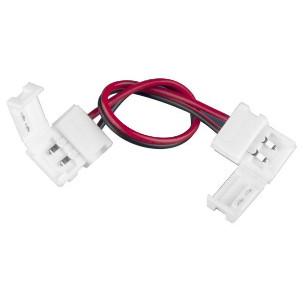 Коннектор для одноцветной светодиодной ленты 3528 гибкий ДВУСТОРОННИЙ