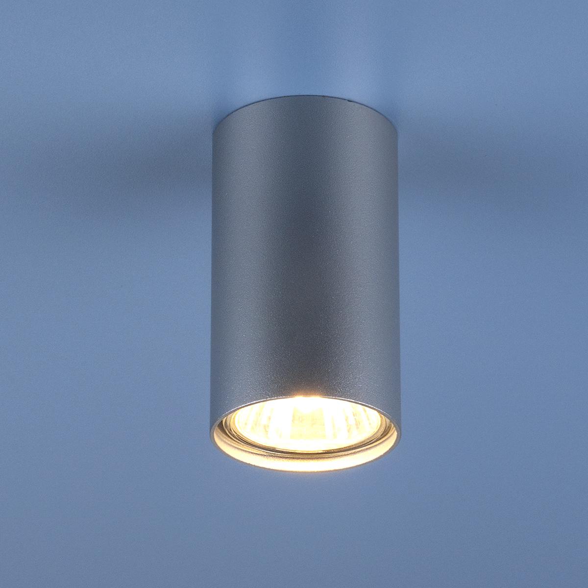 Накладной точечный светильник 5257 SL серебро