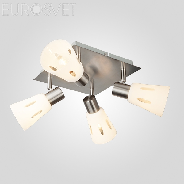 Потолочный светильник 20041/4 сатин-никель