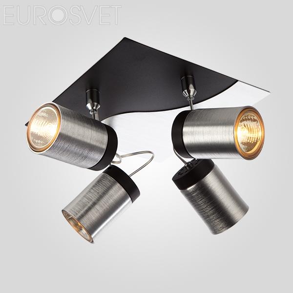 20044/4 хром/черный Подвесной светильник