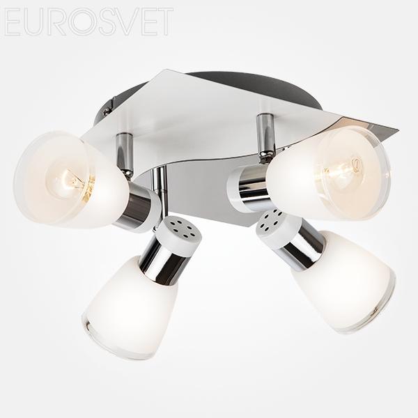 20048/4 белый/хром Подвесной светильник