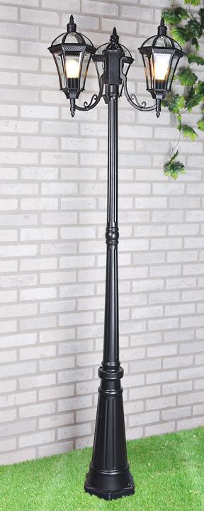 Уличный светильник - Capella F/3 черный