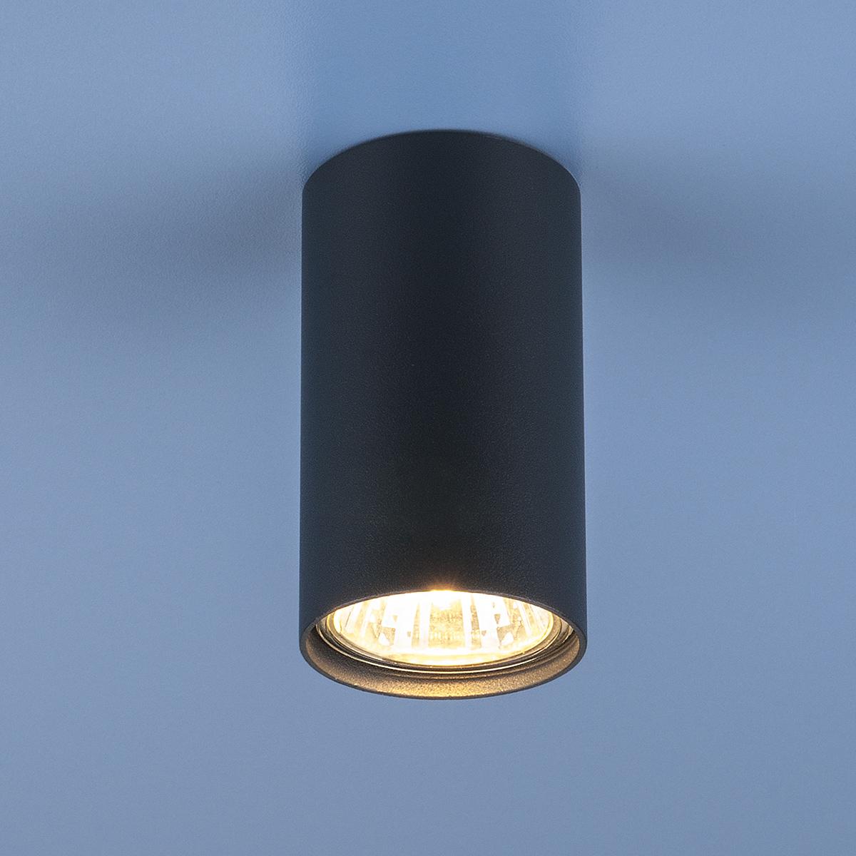 Накладной точечный светильник 5256 графит