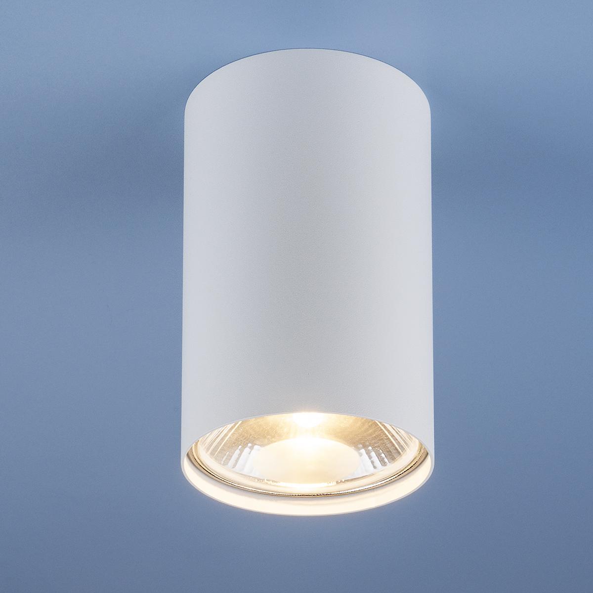Накладной точечный светильник 6873 белый