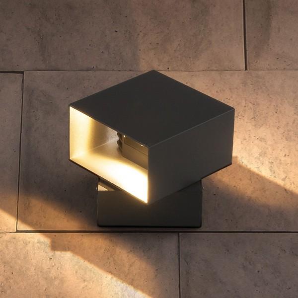 Уличный свет - TECHNO 1607 LED графит