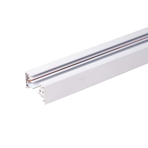 Однофазный шинопровод  белый (1м.) / TRL-1-1-100-WH