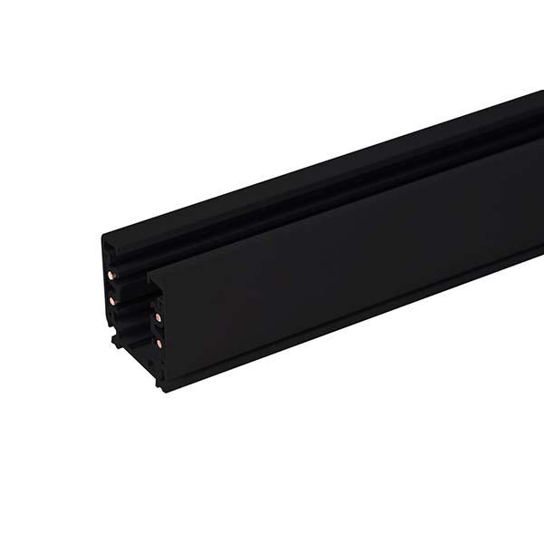 Трехфазный шинопровод  черный (1м.) / TRL-1-3-100-BK