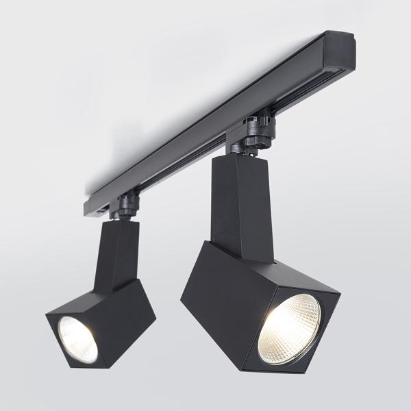 LTB13 / Светильник потолочный светодиодный Perfect Черный 38W 3300K