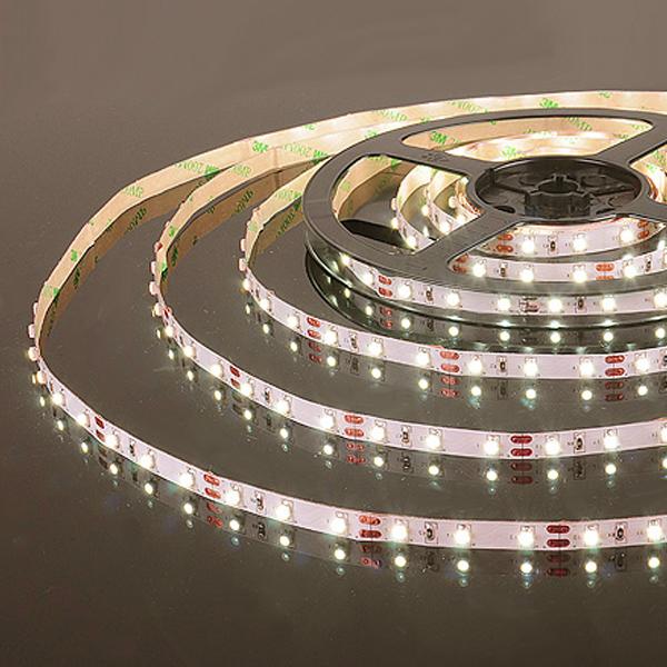 Лента светодиод.  60 Led 4,8 W IP20 теплый 3000К (5 метров)