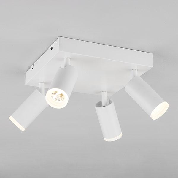 Потолочный светодиодный светильник с поворотными плафонами 20067/4 LED белый