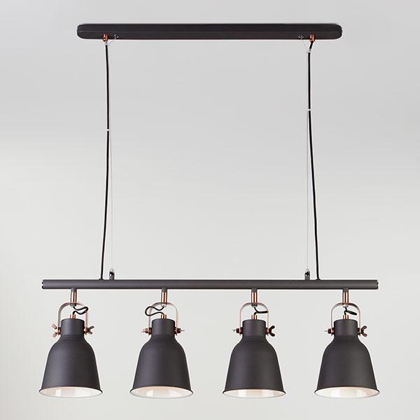 Подвесной светильник 50083/4 черный