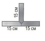 Перекрестие т-образное 7321