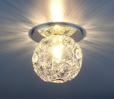 Светильник 1002 G9 серебро (SL)