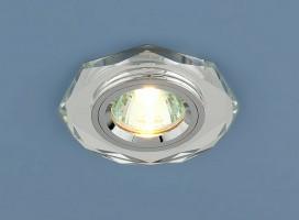 Светильник 8020/2 зеркальный серебро (YL/SL) SC