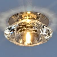 Светильник 8016 G4 хром/прозрачный (CH)