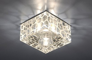 Светильник 8105 G9 прозрачный  (Clear/Satin)