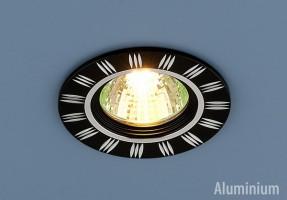 Светильник 5814 MR 16 черный/хром