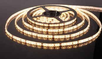 Лента светодиодиодная  60 Led 4,8 W IP65 белый теплый