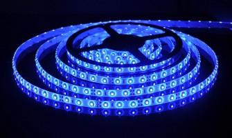 Лента светодиодиодная  60 Led 4,8 W IP65 синий