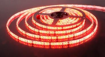 Лента светодиодиодная  60 Led 4,8 W IP65 красный