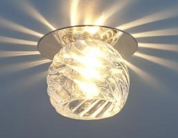 Светильник 8103 G9 хром/прозрачный (CH\Сlear) SC