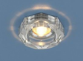 Светильник 9120 серебрянный/серебрянный
