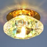 Светильник 8016 G4 золото/перламутр
