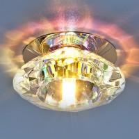 Светильник 8016 G4 хром/перламутр
