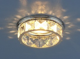 Светильник 7275 MR16 хром/прозрачный