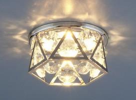 Светильник 7288 MR16 хром/прозрачный