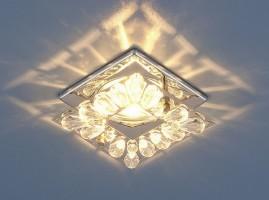 Светильник 7276 MR16 хром/прозрачный