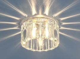 Светильник 8449 MR16 хром/прозрачный