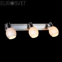 Настенный светильник 20121/3*40Вт.  хром-сатин/никель Е14