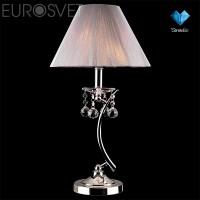 Настольная лампа 1087/1 хром/серебристый