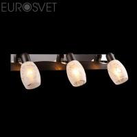 Настенный светильник 60301/3*40Вт.  хром/венге Е14